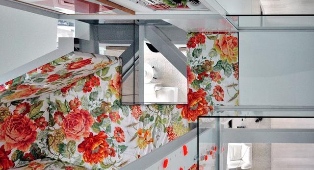 Podobają wam się takie kwiaty na ścianach?